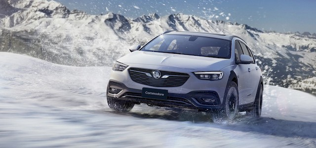 Higher-riding all-wheel-drive Commodore Tourer gets here next year