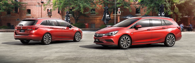 The Astra Sportwagon goes on sale from October 1
