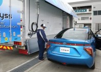 Toyota's Mirai sedan – on sale in Japan and America