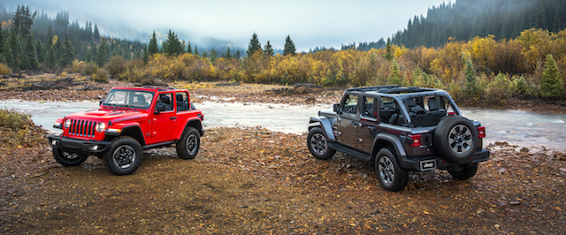 All-new 2018 Jeep® Wrangler Rubicon and All-new 2018 Jeep® Wrangler Sahara