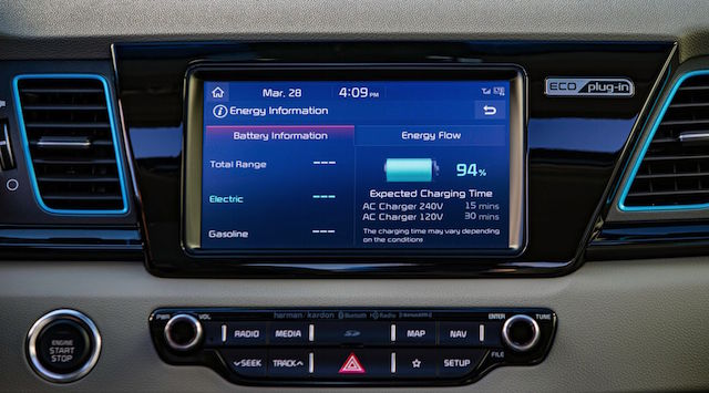 2018 Kia Niro Plug-In Hybrid - Display, Battery Flow_preview