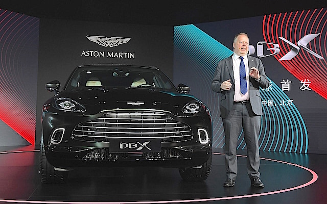 Andy Palmer CEO Aston Martin