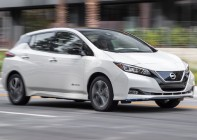 2019-Nissan-Leaf-Plus-SL-motion-front-side-view