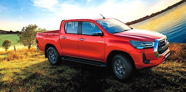 IMAGE_2020 Toyota Hilux has been globally revealed, international image shown copy