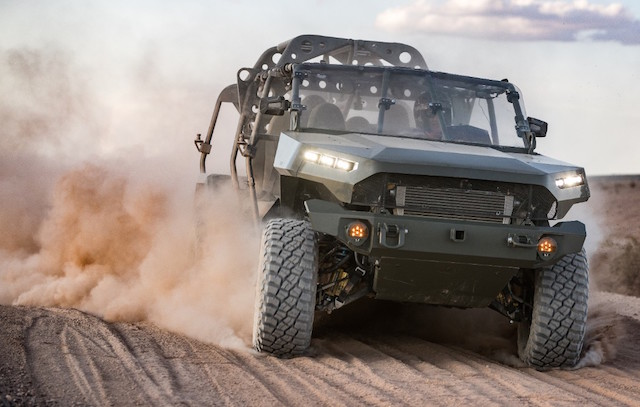 U.S. Army has awarded GM Defense LLC, $ M production contract to build, field, and sustain the Army's new Infantry Squad Vehicle (ISV).  GM Defense's solution to the Army's next-generation transportation needs is based off the award-winning 2020 Chevrolet Colorado ZR2 midsize truck architecture and leverages 70 percent commercial-off-the-shelf parts.