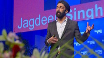 Jagdeep at Swiss ECS 1